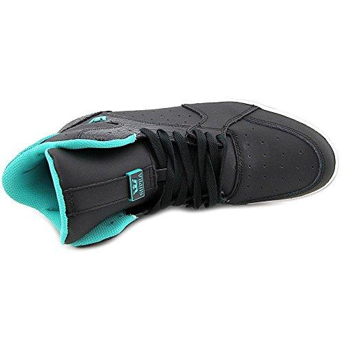 Supra VAIDER 3000 Unisex-Erwachsene Hohe Sneakers Black / atlantis - off white
