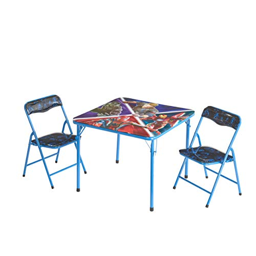 Marvel Avengers Infinity War 3 Pc Table & Chair Set, Multicolor ()