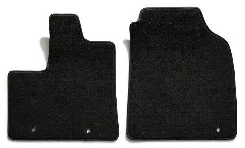 Audi Tt Vinyl (Premier Custom Fit 2-piece Front Carpet Floor Mats for Audi TT (Premium Nylon, Black))