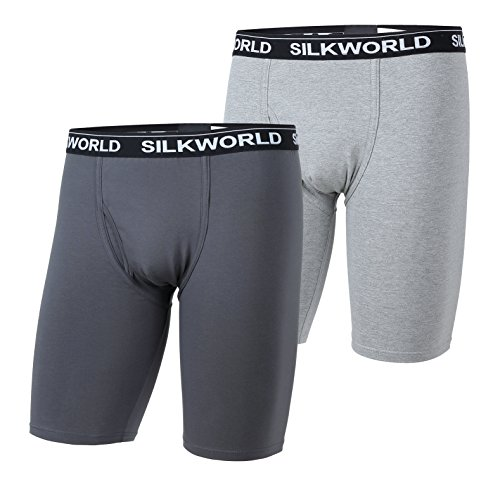 SILKWORLD 4 Pack Cotton Stretch Boxer