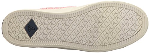 Crest Stripe Sperry Women's Shoes Vibe Painterly Red gnzqS