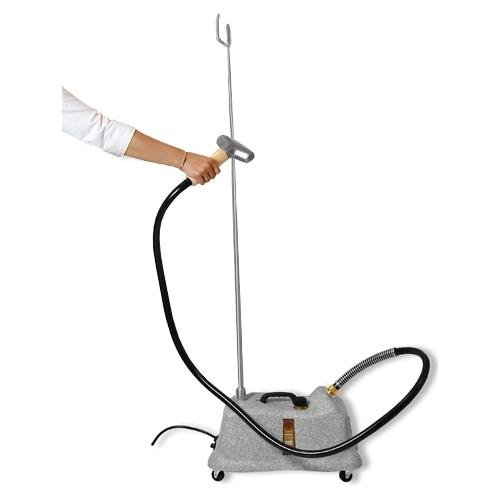 (J-4000DM Jiffy Drapery Steamer with Metal Steam Head and 7.5 Foot Hose Attachment, 120 Volt)