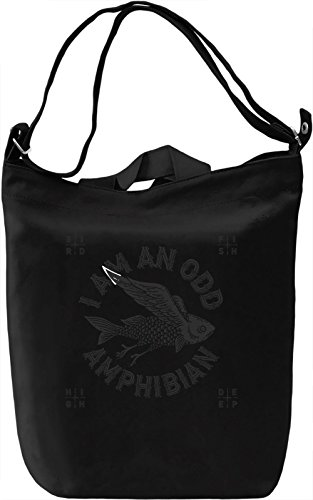 I am an old amphibian Borsa Giornaliera Canvas Canvas Day Bag| 100% Premium Cotton Canvas| DTG Printing|