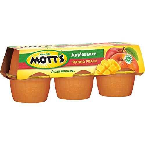 Mott's Applesauce, Mango Peach, 4 Ounce Cups (Pack of 72)