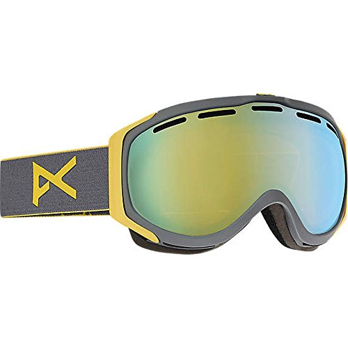 Anon Hawkeye Snow Goggles Gray with Gold Chrome Lens Anon Hawkeye Snow Goggles