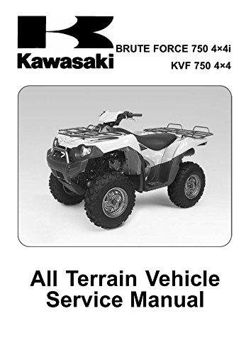 Kvf the best amazon price in savemoney kawasaki kvf 750 brute force 4x4 repair service manual cddvd fandeluxe Choice Image