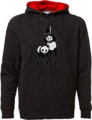 BSW Men's WWF WWE Panda Wrestling Chair Premium Hoodie 3X...