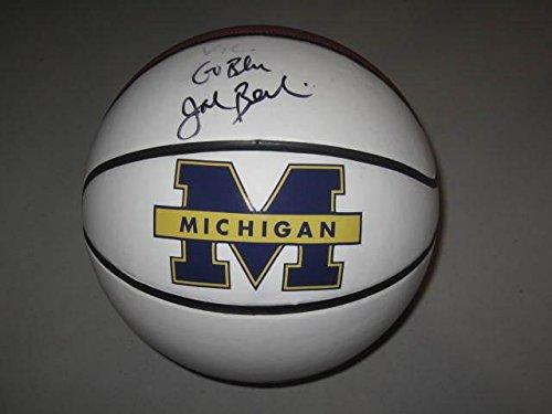 John-Beilein-Michigan-Wolverines-Head-Coach-Signed-Basketball-COA-Hologram-B10-Autographed-College-Basketballs