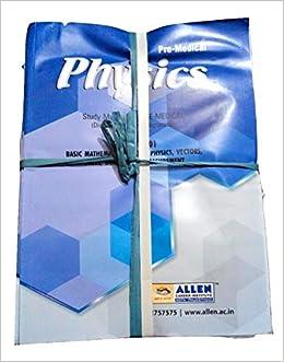 Allen Physics Module For Neet