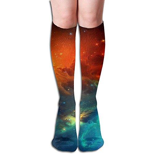 ささやきしゃがむブラケット氷の空 ストッキング 3D デザイン 女性男性 秋と冬 フリーサイズ 美脚 かわいいデザイン 靴下 足元パイル ハイソックス メンズ レディース ブラック サイハイソックス