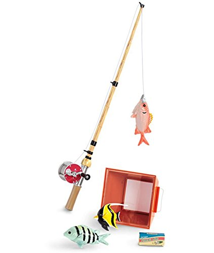 American Girl Fishing Pole and Fish - Nanea's Island Fishing Set