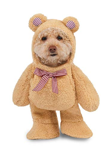 Walking Teddy Bear Pet Suit, X-Small