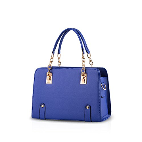 purse messenger new bag Navy bag Blue shoulder amp;DORIS women fashion NICOLE chain ZqSw77z0