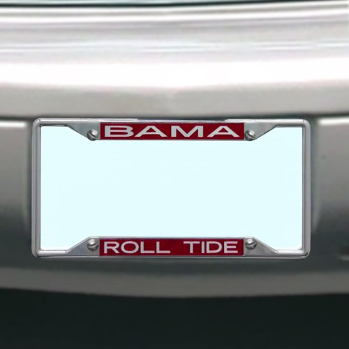 NCAA Alabama Crimson Tide License Plate Frame