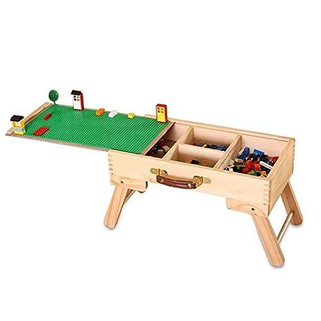 Multi Actividad mesa Kids niños 3 en 1 Lego Play pizarra cajón de ...