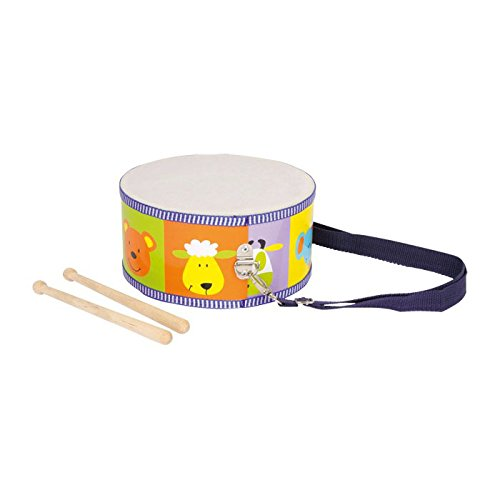 Small Foot Company - 3315 - Jouet Musical - Tambour Animaux