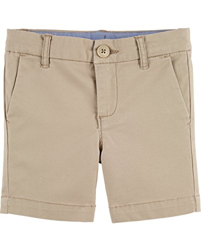 - Osh Kosh Girls' Kids Skimmer Short, Khaki, 7