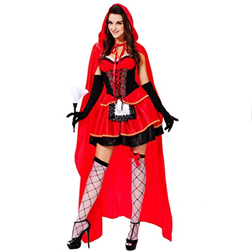 [VLUNT Dress up Pretty Demon Costumes for Halloween Christmas Party] (Angel And Demon Costumes)