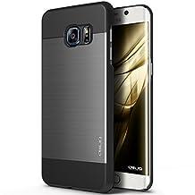 Galaxy S6 Edge Plus Case, OBLIQ [Slim Meta][Titanium/Black] - Stylish Thin Slim Fit Bumper Metallic All Around Protection Hybrid Cover for Galaxy S6 Edge+