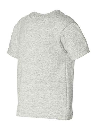 Infant Ash T-shirt - Rabbit Skins 5.5 oz Toddler Short-Sleeve T-Shirt, 4T, Ash