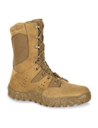 Rocky Tactical Boots Mens S2V Predator Military 8.5 W Brown RKC072