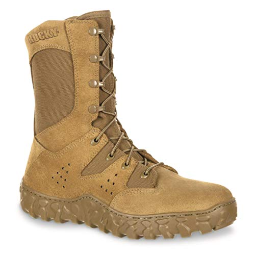 ROCKY Men's S2V Predator Tactical Boots, Coyote Brown, 10.5D (Medium)