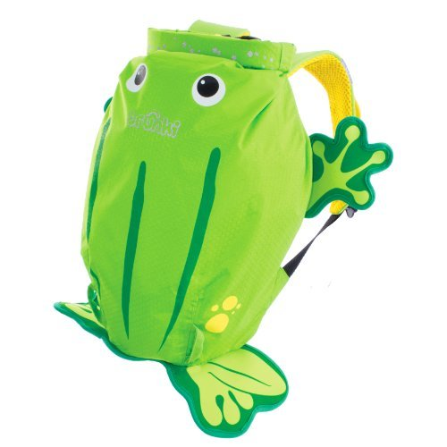 Trunki PaddlePak Backpack - Water Resistent Kids Backpack (Ribbit), Green by Trunki