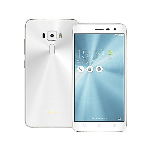 Asus ZenFone 3 ZE552KL 64GB Moonlight White, Dual Sim, 4GB, 5.5-inch, Unlocked International Model, No Warranty