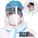 【Made In USA】 Face Shield Anti-splash Clear