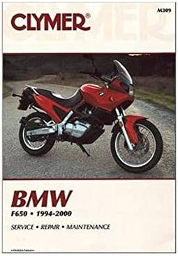 Amazon.com: Clymer Repair Manual for BMW F650 F-650 94-00: AutomotiveAmazon.com