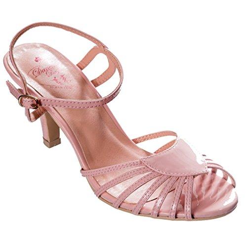 Banned Sandalias de Vestir de Material Sintético Para Mujer Rosa Rosa One Size Rosa