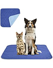 Beck's USA Made Reusable Pet Pee Pads for Dog & Cat Pee Problems|Advanced Leak Free Design + Color Change Wetness Indicator| 1 Pad= 500 Disposable |Crate Training Waterproof Puppy Pad or Cat Pee Pad