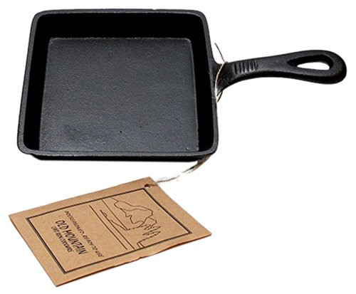 Iwgac Home Indoor Decorative Collectibles Old Mountain Cast Iron Preseasoned Square Skillet