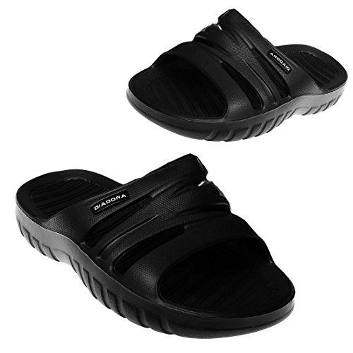 Diadora , Herren Sneaker Schwarz Nero