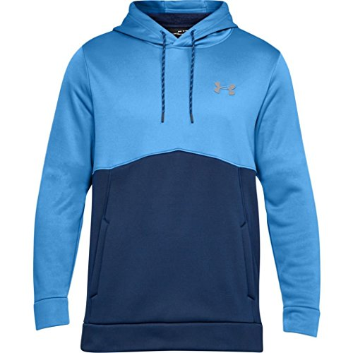 Under Armour Men's Af Icon Solid Po Hood Jacket, Mediterranean (437)/Graphite, ()