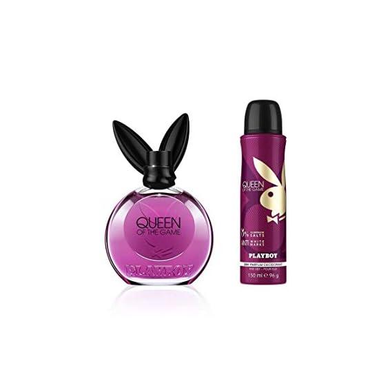 Playboy Playboy Queen For Women Gift Set (Edt90ml+Bs150ml), 240 ml