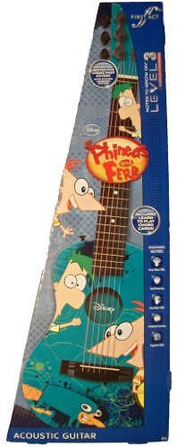 Disney Phineas and Ferb Acoustic Guitar First Act