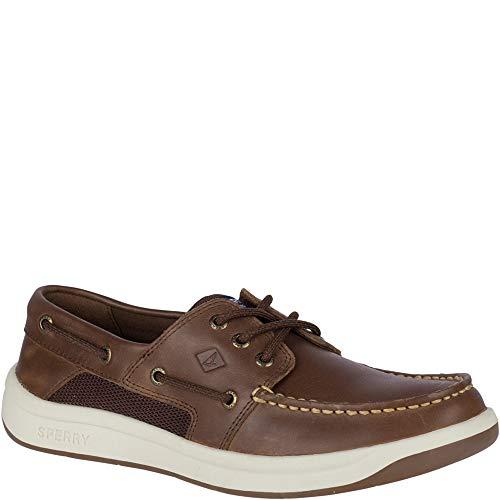 SPERRY Men's Convoy 3-Eye Boat Shoe, Brown, 7.5