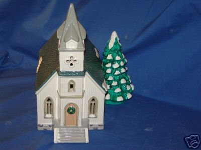 Dept 56 Snow Village All Saints Church & Choir Kids