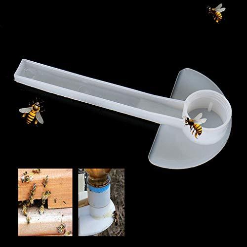 weiadinga 10PCS Beekeeping Honey Import Feeder Honeycomb Tool Beekeeper Bee Keeping Equipment Multi-Function Bee Feeder ()