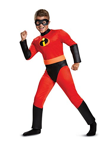 Disguise Dash Classic Muscle Child Costume, Red, Medium/(7-8)]()