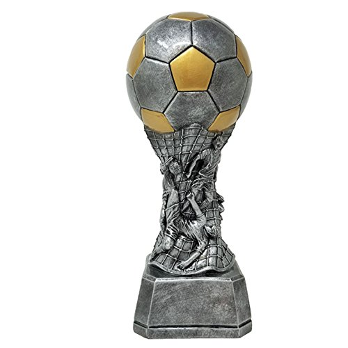 Decade Awards Soccer Team Tower Trophy/Soccer Team Award/Futbol Award/Soccer Trophy | 9 Inch - 9 Inch Soccer Ball