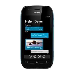 "Nokia Lumia 710 Negro - Smartphone (9,4 cm (3.7""), 800 x 480 Pixeles, TFT, 1,4 GHz, Qualcomm, MSM 8255)"