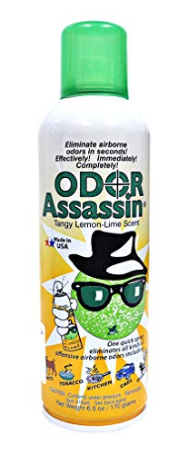 Odor Assassin Odor Eliminator Tangy Lemon Lime Scent