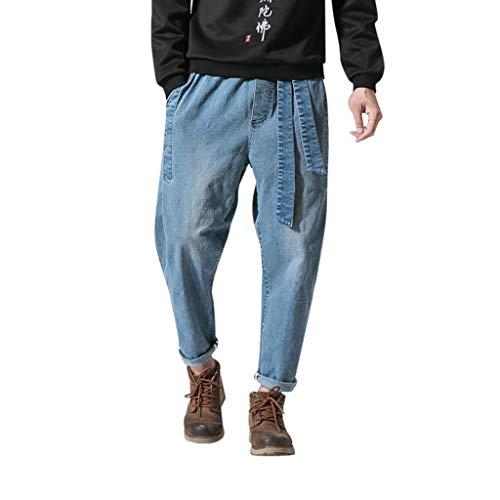 Genieße den kostenlosen Versand bieten eine große Auswahl an Bestellung Herren Haremshose Jeans Hosen für Männer Old School Vintage ...