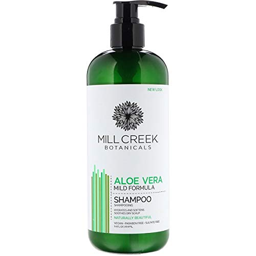 - Mill Creek Botanicals Shampoo Aloe Vera, 14 Fluid Ounce