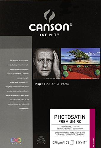 Canson Infinity PhotoSatin Fine Art Paper, 8.5&quo…