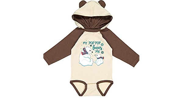 inktastic Teddy 8 Long Sleeve Creeper