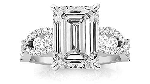 1.16 Ct Emerald Cut Diamond - 3