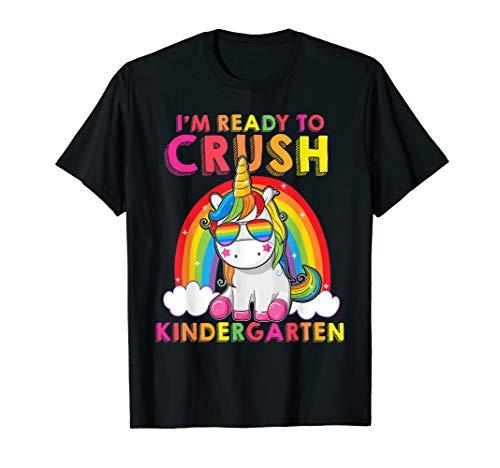 I'm Ready To Crush Kindergarten Tshirt Unicorn Gifts Kids